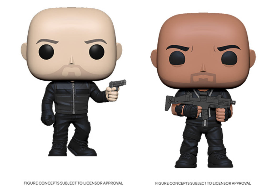 Funko Pop! Movies: Hobbs & Shaw Set