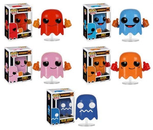 Funko Pop! Games: PAC-Man Set of 7