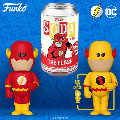 [PRE-ORDER] Funko Pop! Vinyl Soda: DC - The Flash w/ chance of Chase