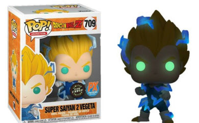 Funko Pop! Animation: Dragonball Z - Super Saiyan 2 Vegeta Chase