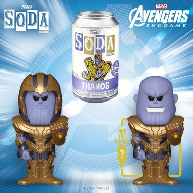 [PRE-ORDER] Funko Pop! Vinyl Soda: Marvel - Thanos w/ chance of Chase