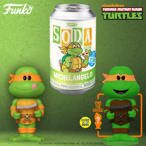 Funko Pop! Vinyl Soda: TMNT - Michelangelo w/ chance of Chase