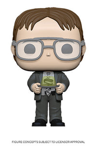 Funko Pop! TV: The Office  S2 - Dwight w/ Gelatin Stapler