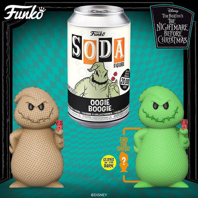 [PRE-ORDER] Funko Pop! Vinyl Soda: Disney - NMBC - Oogie Boogie w/ chance of Chase