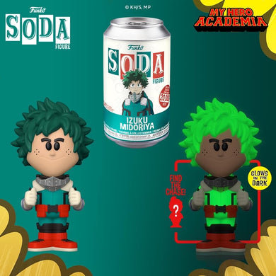 [PRE-ORDER] Funko Pop! Vinyl Soda: My Hero Academia - Deku w/ chance of Chase