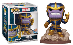 Funko Pop! Marvel: Thanos Snap with Comic