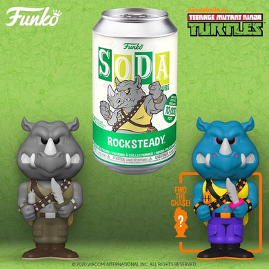 [PRE-ORDER] Funko Pop! Vinyl Soda: TMNT - Rocksteady w/ chance of Chase