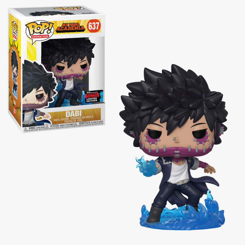 Funko Pop! Animation: My Hero Academia - Dabi (Fall Convention)