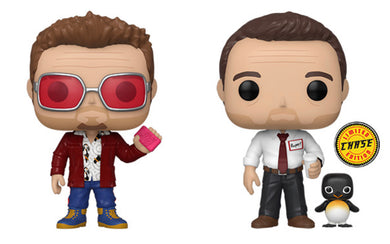 Funko Pop! Movies: Fight Club - Tyler Durden w/ Chase and Buddy