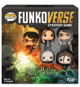Funkoverse Strategy Game Harry Potter Base Set
