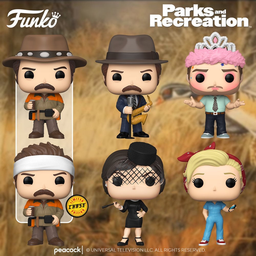 [PRE-ORDER] Funko Pop! TV: Parks & Recreation