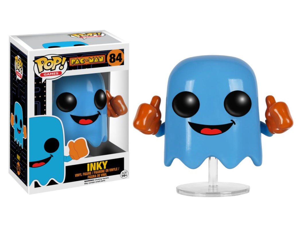 Funko Pop! Games: PAC-Man - Inky
