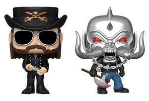 [PRE-ORDER] Funko Pop! Rocks: Motörhead (Set of 2)