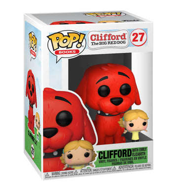 [PRE-ORDERS] Funko Pop! Books: Clifford - Clifford w/Emily