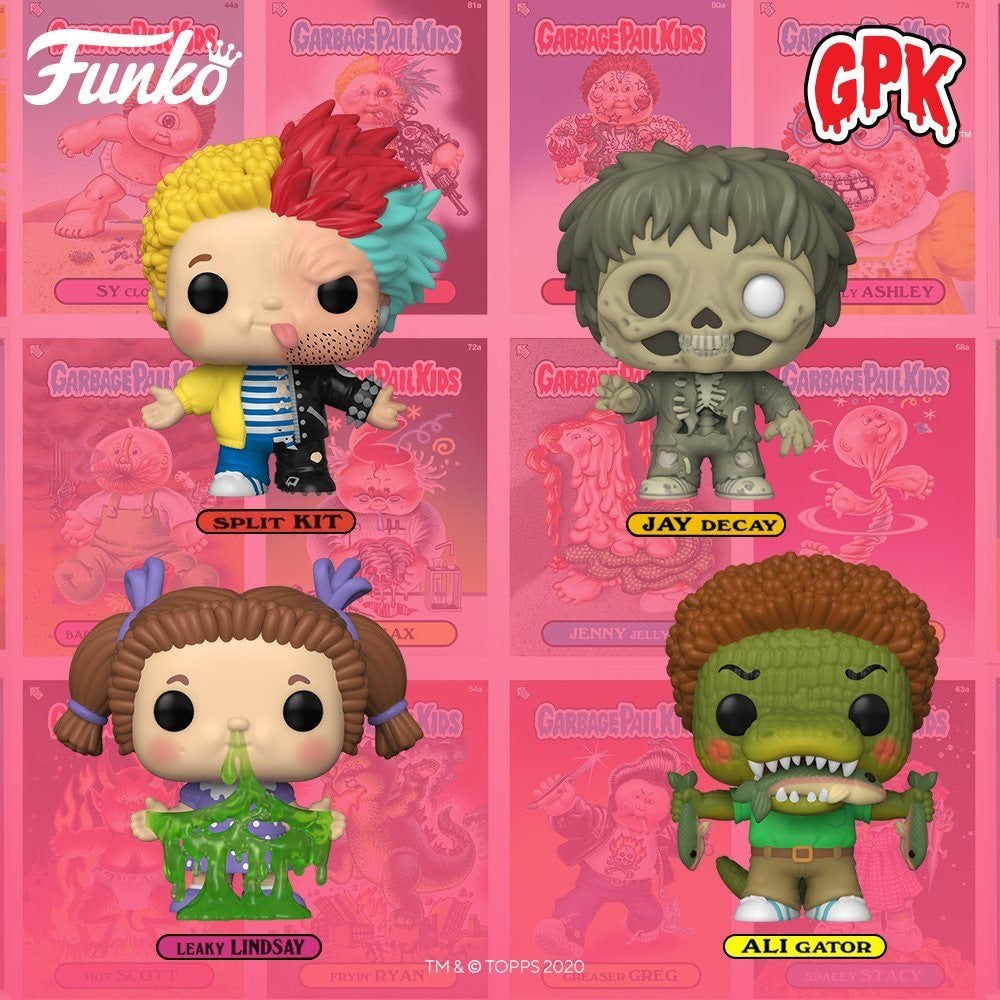 [PRE-ORDER] Funko Pop! Garbage Pail Kids (Series 2)