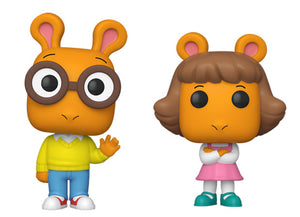 [PRE-ORDER] Funko Pop! Animation: Arthur the Aardvark - Arthur & D.W. (Set of 2)