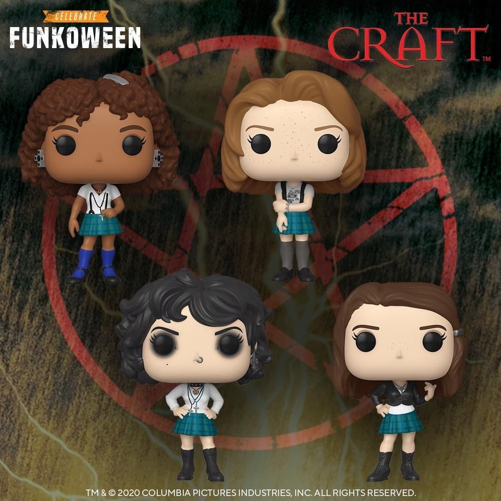 [PRE-ORDER] Funko Pop! Movies: The Craft (Set of 4)