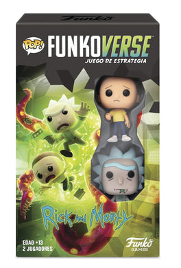Funkoverse Strategy Game Rick and Morty - Expansaline Set