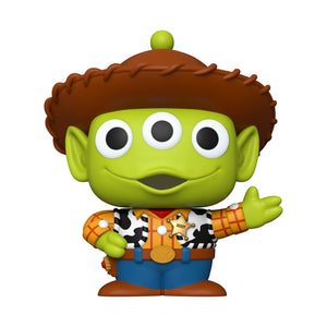 "Funko Pop! Disney: Pixar- 10"" Alien as Woody"