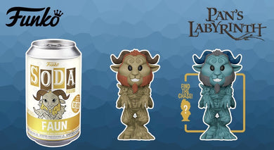 [PRE-ORDER] Funko Pop! Vinyl Soda: Pan's Labyrinth- Faun w/ chance of Chase