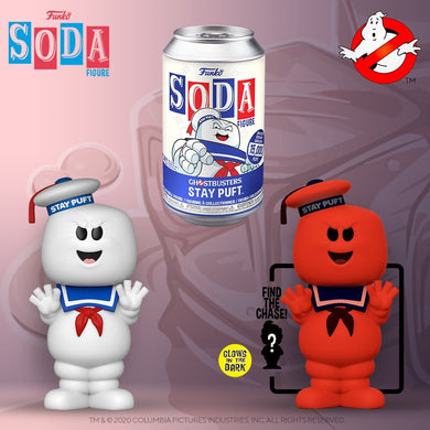 [PRE-ORDER] Funko Pop! Vinyl Soda: Ghostbusters - Stay Puft w/ chance of Chase