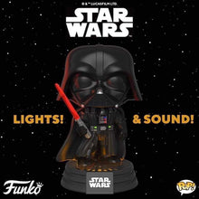 Load image into Gallery viewer, Funko Pop! Star Wars: Darth Vader Light up Pop