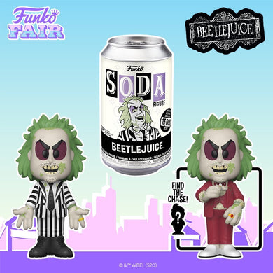 [PRE-ORDER] Funko Pop! Vinyl Soda: Beetlejuice w/ chance of Chase