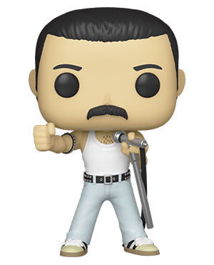 [PRE-ORDER] Funko Pop! Rocks: Queen- Freddie Mercury Radio Gaga 1985