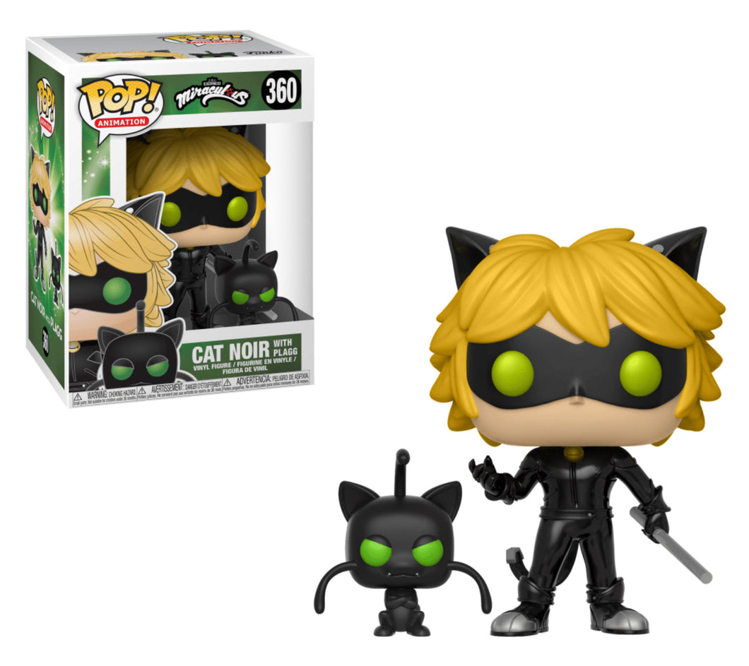 Funko Pop! Animation: Miraculous Ladybug - Cat Noir w/ Plagg