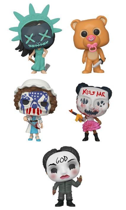 Funko Pop! Movies: The Purge Election Year (Set of 5)