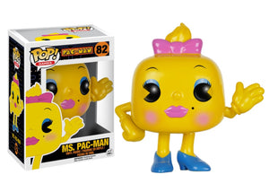 Funko Pop! Games: PAC-Man - Ms PAC-Man