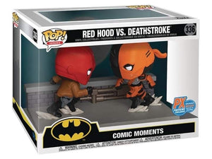Funko Pop! Heroes: Comic Moment - Red Hood VS. Deathstroke SDCC 2020