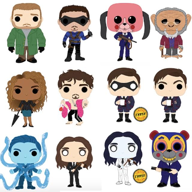 Funko Pop! TV: The Umbrella Academy -Set of 12