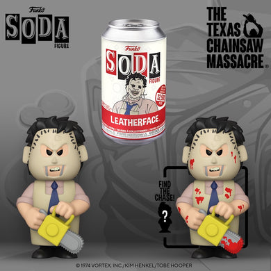 [PRE-ORDER] Funko Pop! Vinyl Soda: Texas Chainsaw Massacre - Leatherface w/ chance of Chase