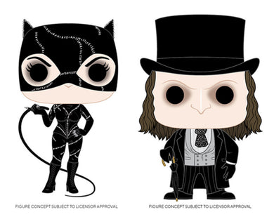 Funko Pop! Heroes: Batman Returns - Catwoman & Penguin Set