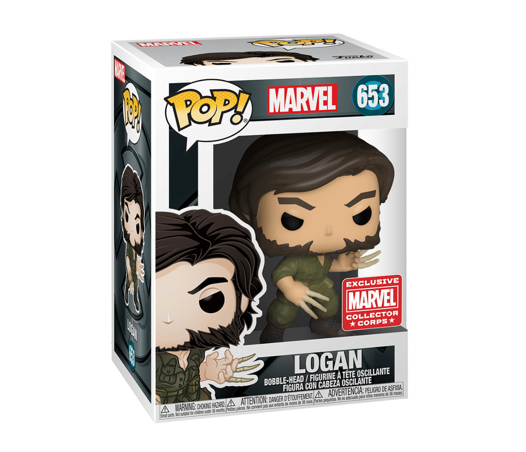 Funko Pop! Marvel: Logan MCC Exclusive