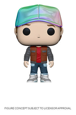 Funko Pop! Movies: Back to the Future - Marty in Future Outfit