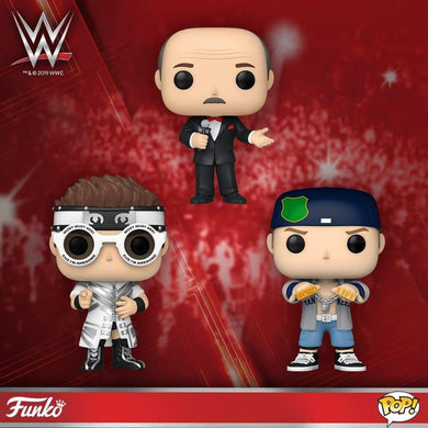 [PRE-ORDER] Funko Pop! WWE: Set of 7 with BOTH Chases