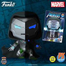 Load image into Gallery viewer, Funko Pop! Marvel - Infamous Iron-man GitD PX Exclusive with Comic