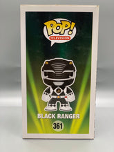 Load image into Gallery viewer, Autographed Black Power Ranger Pop with CoA