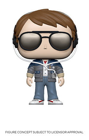 Funko Pop! Movies: Back to the Future - Marty w/ Glasses