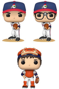 Funko Pop! Movies: Major League - Set of 3
