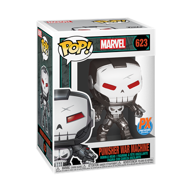 Funko Pop! Marvel: Punisher War Machine (PX Exclusive)
