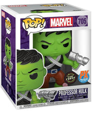 "Load image into Gallery viewer, [PRE-IRDER] Funko Pop! Marvel: Professor Hulk 6"" (PX Previews Exclusive)"
