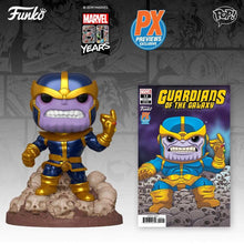 Load image into Gallery viewer, Funko Pop! Marvel: Thanos Snap with Comic