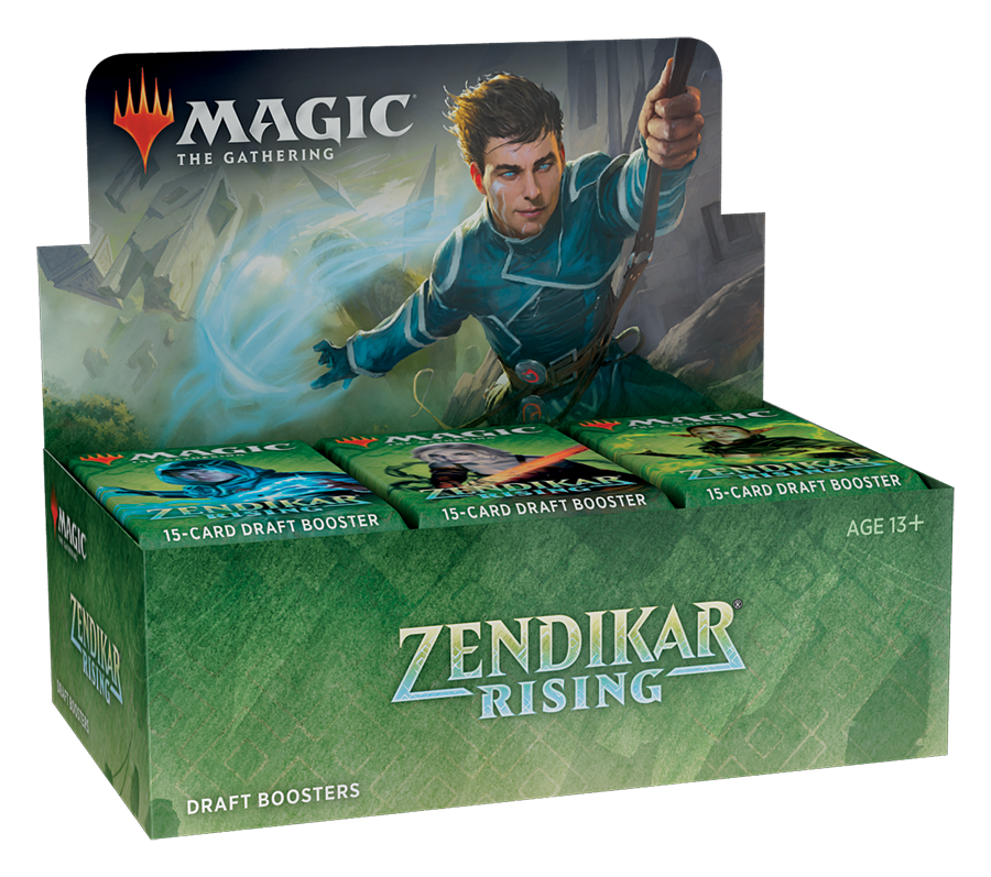Magic The Gathering: Zandikar Rising Booster Pack