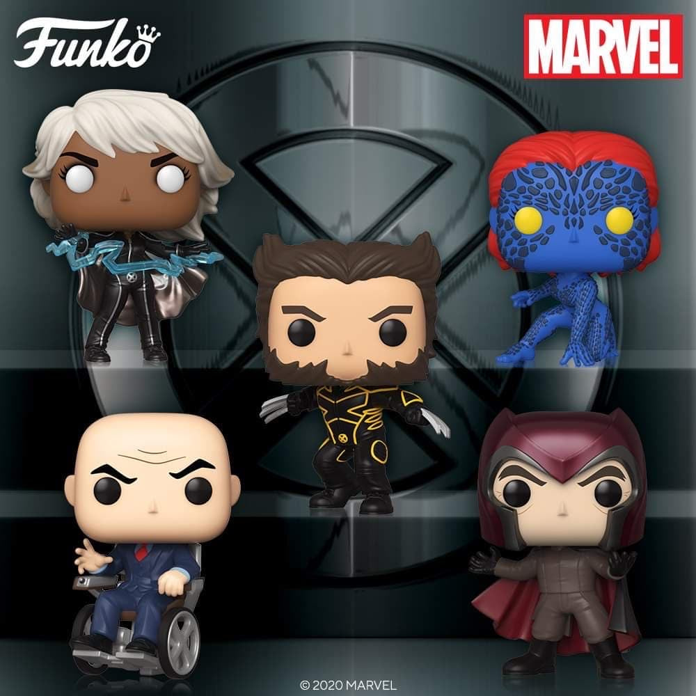 [PRE-ORDER] Funko Pop! Marvel: X-Men 20th Anniversary Set of 11