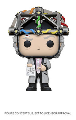Funko Pop! Movies: Back to the Future - Doc w/ Helmet