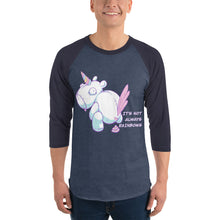 Load image into Gallery viewer, Bad Unicorn - 3/4 sleeve raglan shirt