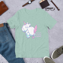 Load image into Gallery viewer, Bad Unicorn -  Short-Sleeve Unisex T-Shirt